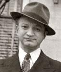 Abe Schneider, skrzypek, urodzony w Białowieży, po emigracji w USA. Zdjęcie ze zbiorów rodziny.