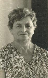 Chaja Halperin w Izraelu. Zdjęcie ze zbiorów rodziny