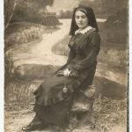 Chawa żona Lazara Halperin. Zdjęcie ze zbiorów rodziny