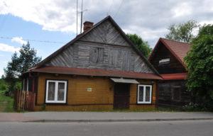 Dawny dom i piekarnia Abrahama Prynca na Stoczku. Zdjęcie Katarzyna Winiarska