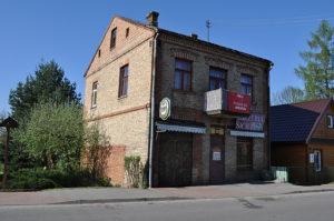 Dawny sklep żelazny Stawskiego na Stoczku, dziś pizzeria. Fot. Katarzyna Winiarska