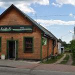 Dawny sklep bławatny Nowokolskich, za którym stała synagoga na Stoczku. Obecnie sklep spożywczy Pod Sarenką. Zdjęcie Katarzyna Winiarska