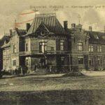 Dom myśliwski w Białowieży, 1917. Zdjęcie ze zbiorów FotoPolska