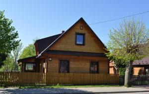 Dom na Stoczku, w którym przed wojną rabin wynajmował pokój. Zdjęcie Katarzyna Winiarska