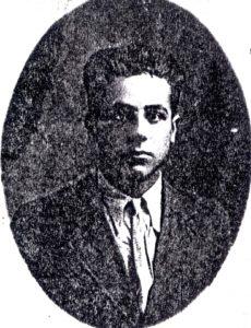 Emanuel Alkon. Zdjęcie z Yad Vashem