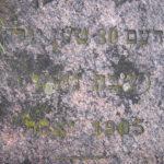 Grób Elizera Maleckiego z Białowieży na cmentarzu w Narewce. Zdjęcie Tomasza Wiśniewskiego z 2016 roku ze strony www.bagnowka