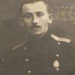 Hershel Feldbaum w rosyjskim mundurze. Zdjęcie rodziny