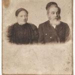 Jehoszua Halperin z żoną Idą Kleszczelską. Zdjęcie ze zbiorów rodziny
