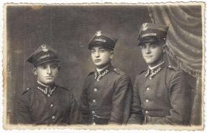 Joszua Lerenkind (po prawej). Zdjęcie ze zbiorów Amira Bergera