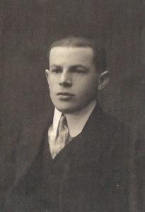 Kuzyn Lazara Halperin. Zdjęcie ze zbiorów rodziny
