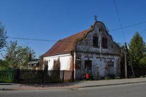 Prawdopodobnie dawny dom Maleckiego, zegarmistrza i złotnika. Zdjęcie Katarzyna Winiarska
