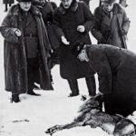 Prezydent Ignacy Mościcki i Hermann Göring na polowaniu w Białowieży, 1938. Zdjęcie ze zbiorów FotoPolska