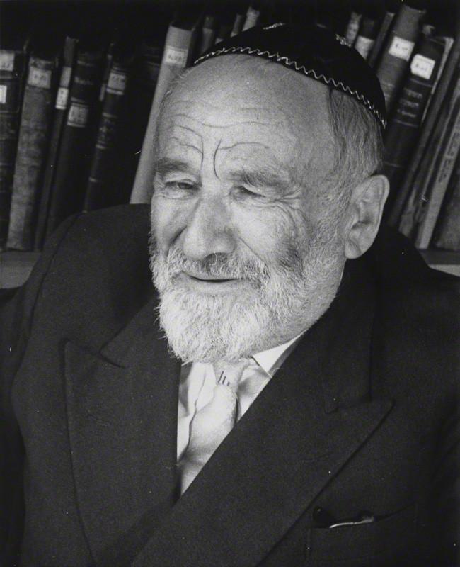 Rabbin Kopel Kahana_copyright Michael Wallach (in the collection of NPG London)