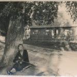 Sarenka, właścicielka knajpy w Białowieży w dzielnicy Krzyże, Ocalona. Zdjęcie ze zbiorów  Niny Ławrysz