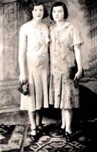 Siostry Liba i Bejla Krugman. Zdjęcia ze zbiorów rodziny