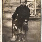 Szajla Halperin w Białowieży. Zdjęcie ze zbiorów rodziny