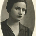 Szejna Halperin, 1930. Zdjęcie ze zbiorów rodziny