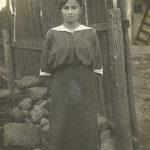 Szejna Halperin w Białowieży. Zdjęcie ze zbiorów rodziny