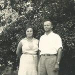 Szejna Halperin z mężem Jakubem Kartzenel w Izraelu. Zdjęcie ze zbiorów rodziny