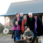Wizyta potomkiń Halperinów w Białowieży
