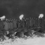 Wizyta premiera Prus Hermanna Goringa w Białowieży w 1935. Zdjęcie ze zbiorów NAC