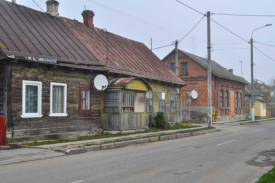 Prużany, teren getta, ulica Tarmasowa, 2015,, zdj. K. Winiarska