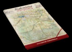 Mapa Białowieży