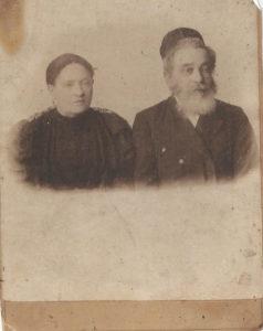 Joszua Halperin i Ida Kleszczelska